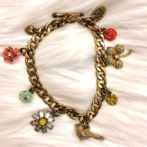 Juicy Couture 💖 Spring 🌼 Mini Charm Bracelet